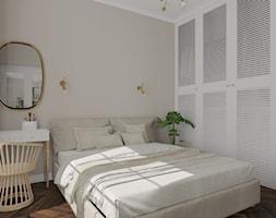 Salon i sypialnia w stylu francuskim - Sypialnia, styl vintage - zdjęcie od KJ Studio Projektowanie wnętrz - Homebook