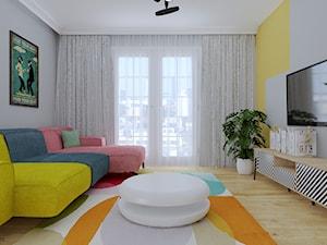 Kolorowe mieszkanie 55m2