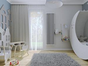 Pokój dziecięcy z tapetą