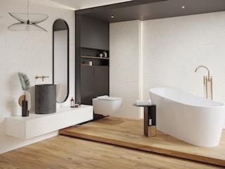 Kamień w łazience – efektowny trend, który podbił serca miłośników ponadczasowej elegancji