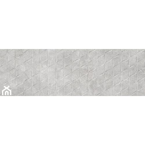 Dapper Grey Structure Satin