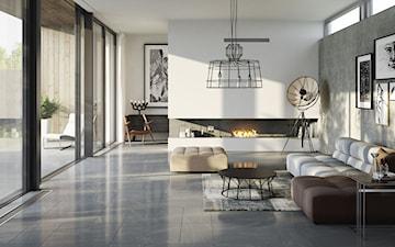 Kamień, beton czy drewno – co wybrać na podłogę w salonie?