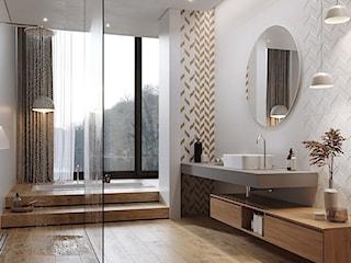 10 sposobów na piękną łazienkę z płytkami strukturalnymi