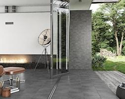 SOLAR - Mały taras z tyłu domu, styl nowoczesny - zdjęcie od Opoczno