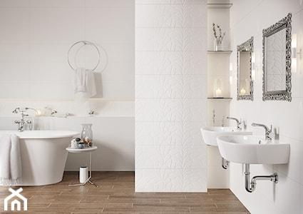 Strefa dla wrażliwej duszy, czyli pastelowa łazienka z nutą romantyzmu