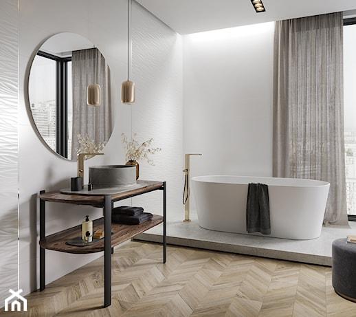 Modny kolor czy efektowna struktura – na jakie płytki postawić, urządzając łazienkę? Sprawdź