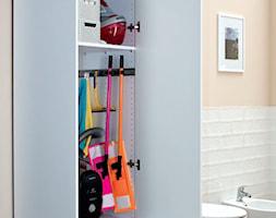 Łazienka - Średnia biała łazienka w bloku, styl eklektyczny - zdjęcie od Castorama