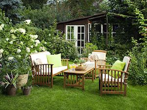 Balkon, taras, ogród - Średni ogród za domem, styl tradycyjny - zdjęcie od Castorama