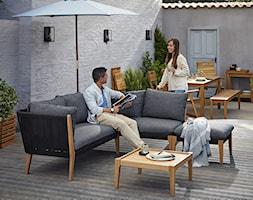 Balkon, taras, ogród - Średni taras z tyłu domu, styl nowoczesny - zdjęcie od Castorama - Homebook