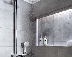 łazienka Mała Beżowa Różowa łazienka Z Oknem Zdjęcie Od