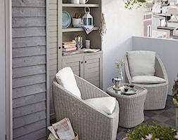 Balkon, taras, ogród - Mały taras, styl prowansalski - zdjęcie od Castorama