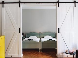 Drzwi przesuwne w apartamencie we Wrocławiu