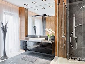 Łazienka dobrze zaprojektowana ....
