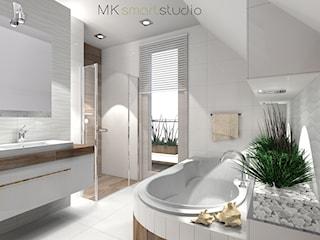 Łazienka w stylu skandynawskim - projekt