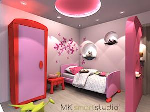 Różowy pokój małej księżniczki
