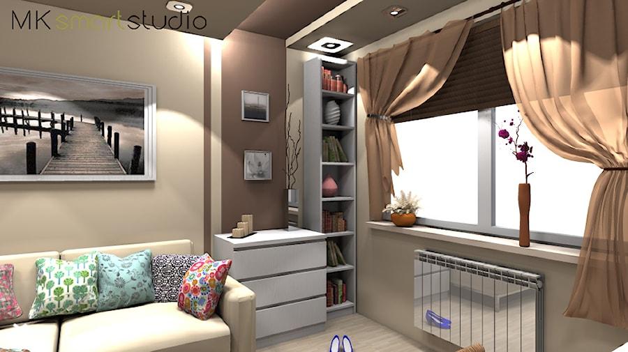 Pokoj Mlodzierzowy Z Uzycien Mebli Ikea Projekt Wnetrza