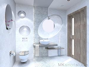Beżowe klimaty łazienki i wc...