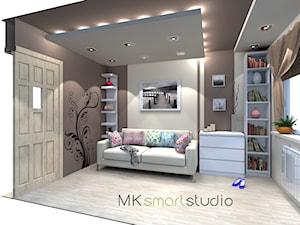 Pokój młodzierzowy z użycien mebli Ikea
