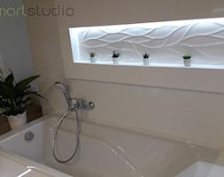 Realizacja pięknej i nowoczesnej łazienki w stylu skandynawskim - zdjęcie od MKsmartstudio - Homebook