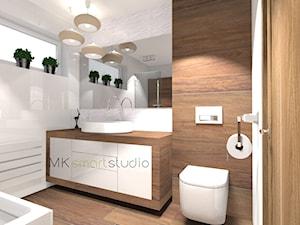 Nowoczesna skandynawska łazienka