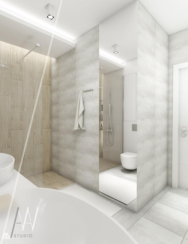 Projekt głównej łazienki - zdjęcie od AAW studio