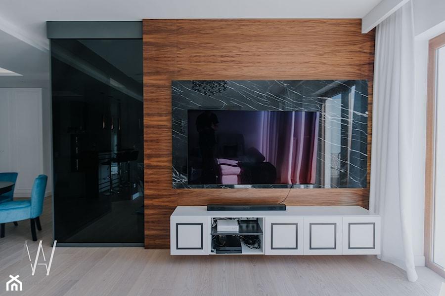 NOWOJORSKI KLIMAT - Salon, styl nowoczesny - zdjęcie od AAW studio