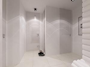 Średni biały hol / przedpokój, styl nowoczesny - zdjęcie od MooNooDesign