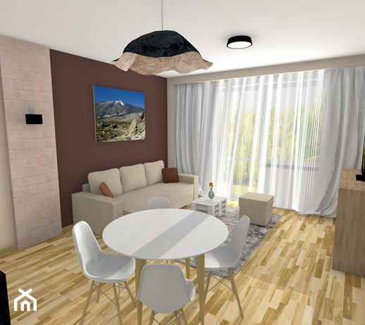 Salon Z Aneksem Kuchennym 20m2 Aranżacje Pomysły Inspiracje Z