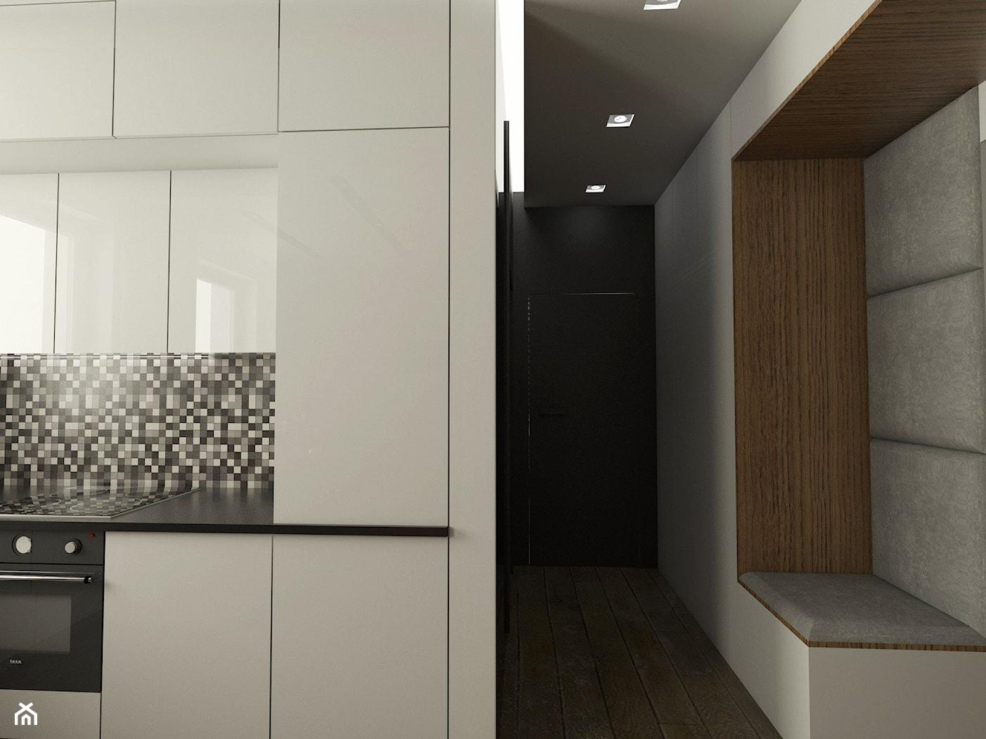 Mieszkanie na Pomorzu - Hol / przedpokój, styl nowoczesny - zdjęcie od EMC&partners - Homebook