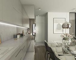 Luksusowe wnętrza - Średnia otwarta kuchnia jednorzędowa w aneksie, styl klasyczny - zdjęcie od EMC&partners