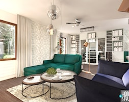 Klimatyczny dom pod miastem - Salon - zdjęcie od HOME & STYLE Katarzyna Rohde - Homebook