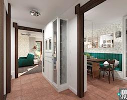 Klimatyczny dom pod miastem - Hol / przedpokój - zdjęcie od HOME & STYLE Katarzyna Rohde - Homebook
