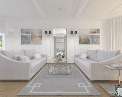 Dom w stylu nowoczesnej klasyki - Salon - zdjęcie od HOME & STYLE Katarzyna Rohde - Homebook