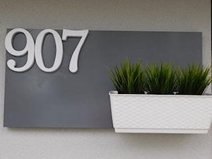 Jak zrobić tablicę z numerem domu? #DIY