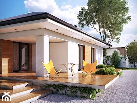 Aranżacje wnętrz - Domy: Projekt domu Ariel 4 - DOMY w Stylu Projekty domów. Przeglądaj, dodawaj i zapisuj najlepsze zdjęcia, pomysły i inspiracje designerskie. W bazie mamy już prawie milion fotografii!