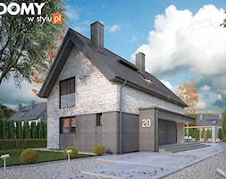 Projekt domu Malutki 5 - zdjęcie od DOMY w Stylu Projekty domów - Homebook