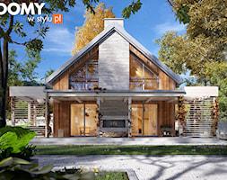 Projekt domu Weranda 4 - zdjęcie od DOMY w Stylu Projekty domów - Homebook