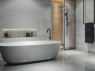 Wielki powrót mozaiki! Zobacz 11 aranżacji, które zainspirują Cię do wykorzystania drobnych płytek w łazience