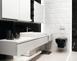 maloli - Średnia łazienka w bloku bez okna, styl nowoczesny - zdjęcie od Ceramika Paradyż