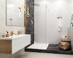 emilly-milio - Średnia łazienka bez okna, styl eklektyczny - zdjęcie od Ceramika Paradyż