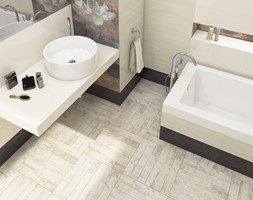 Como - Mała łazienka w bloku bez okna, styl tradycyjny - zdjęcie od Ceramika Paradyż