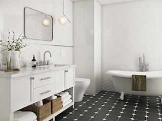 Białe płytki w łazience, czyli gorący trend, który nigdy nie wyjdzie z mody!