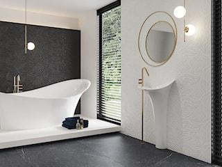 Złoto, srebro czy metaliczny grafit – jaki motyw wybierzesz do swojej łazienki?