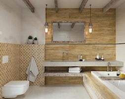 Miracle - Średnia łazienka w bloku w domu jednorodzinnym bez okna, styl eklektyczny - zdjęcie od Ceramika Paradyż