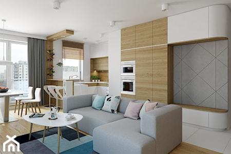 Jak sprytnie urządzić kuchnię połączoną z salonem? Rozmowa z architekt Anną Tutaj-Pielaszek