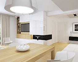 Storczykowa - Średni duży salon, styl nowoczesny - zdjęcie od TutajConcept