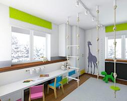 POKÓJ DLA RODZEŃSTWA - Średni pokój dziecka dla chłopca dla malucha, styl nowoczesny - zdjęcie od TutajConcept