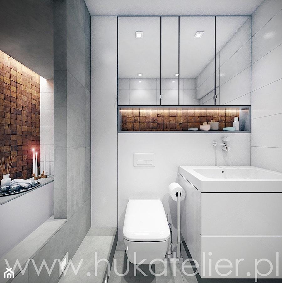 Azienka 5 m2 zdj cie od huk atelier homebook for Badezimmer 4 5 m2