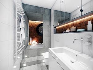 Łazienka 5 m2 - zdjęcie od HUK atelier
