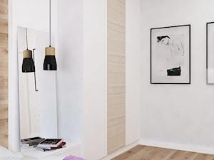 Apartament na Rudzkiej - Sypialnia, styl skandynawski - zdjęcie od Design Factory Studio Projektowe